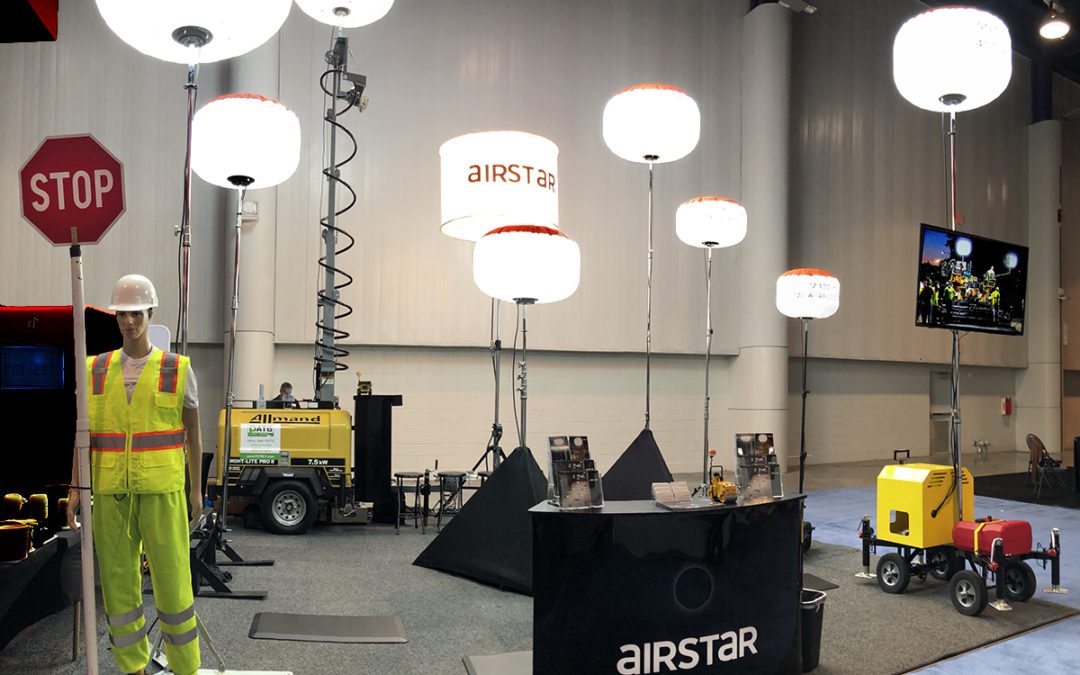 Airstar at the 2020 CONEXPO – CON/AGG Show