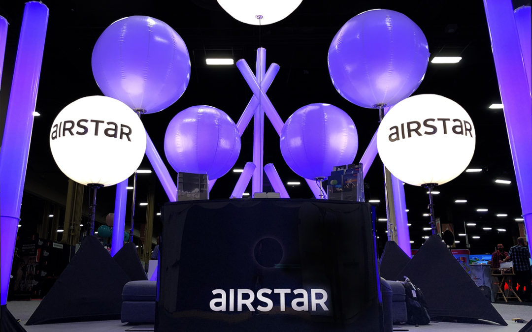 Airstar's booth at The Special Event 2020