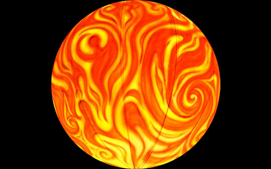 Swirling Jupiter