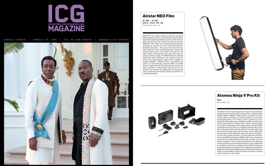 ICG Magazine – April 2021