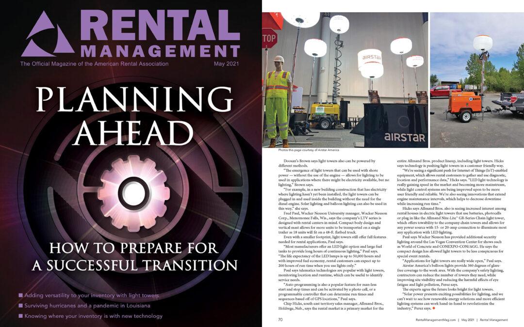 Rental Management – May 2021